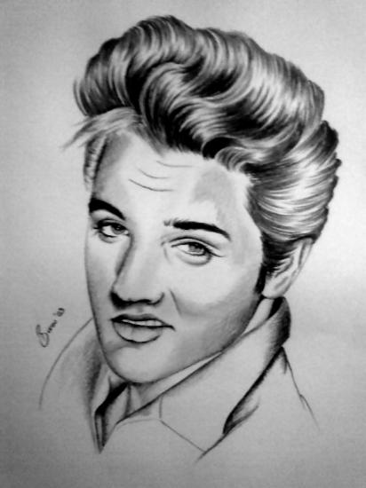Elvis Presley by burcu